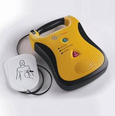 Martek's Lifeforce Marine AED