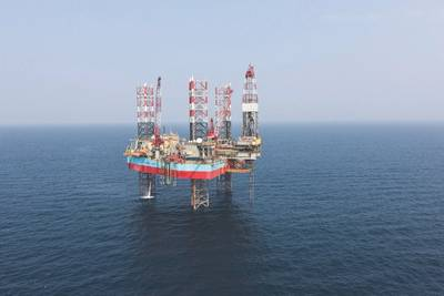 Maersk Giant: Photo courtesy of Maersk Drilling