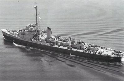 USS Levy (U.S. National Archives Photo)
