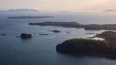 Lelu Island Area: Photo courtesy of Pacific Northwest