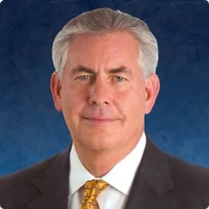 Rex Tillerson, CEO, Exxon Mobil