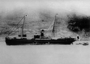 The first ship to MOL was the CHIKUGOGAWA MARU, a cargo-and-passenger ship delivered in May 1890.