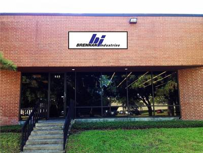 Brennan's new distribution center in Houston, Texas (Photo: Brennan Industries, Inc.)
