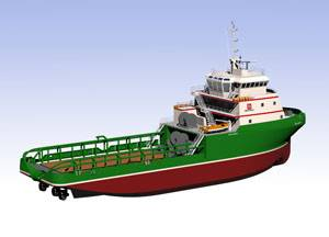 The first GPA 254L AHTS, one of 54 identical vessels for Bourbon Offshore, is currently under construction at Dayang City Shipyard in China.