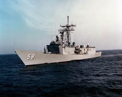 USS Kauffman: Photo credit USN