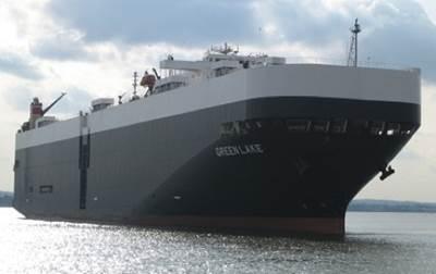Car Carrier: Photo courtesy of International Shipholding Corporation