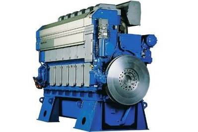 Wärtsilä 32 engine: Image courtesy of Wärtsilä
