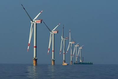 Thornton Bank wind farm: Photo credit ABB
