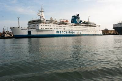 Africa Mercy: Photo credit Mercy Ships