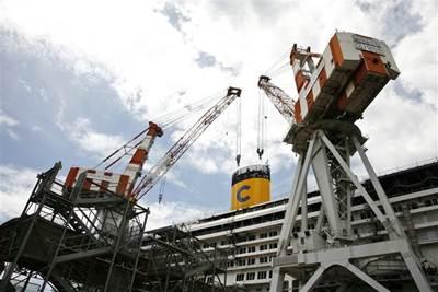 Fincantieri CNI Yard: Photo courtesy of the shipbuiliders