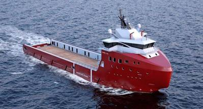 The PSV vessel is of VARD 1 08 design and will be delivered to owner Farstad Shipping ASA in Autumn 2014.