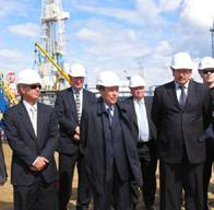 OAO LUKOIL President Vagit Alekperov and ConocoPhillips Chairman and CEO Jim Mulva today participated in a special ceremony on the occasion of the startup of the Yuzhno Khylchuyu (YK) field located in the Nenets Autonomous District.