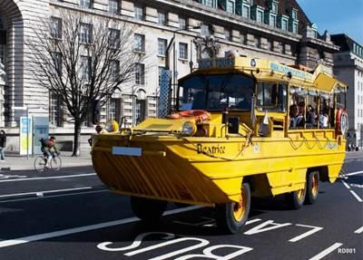 A Similar DUKW: Photo courtesy of London Duck Tours