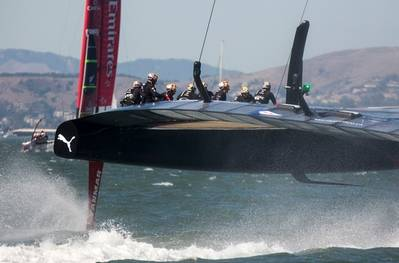 America's Cup: Photo credit Oracle Team USA
