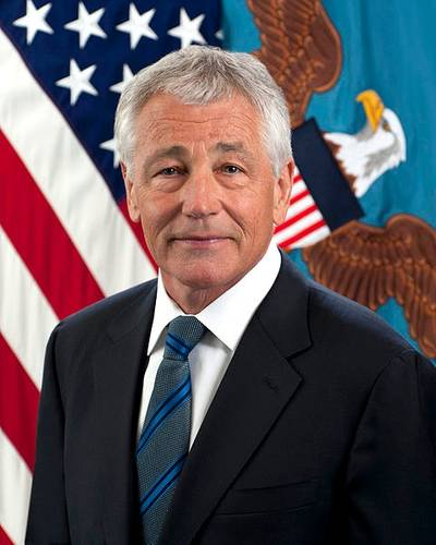 Official photo Chuck Hagel