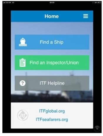 ITF App: Image credit ITF
