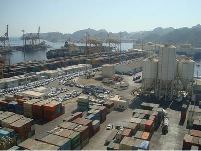 Port Sultan Qaboos: Photo courtesy of the port