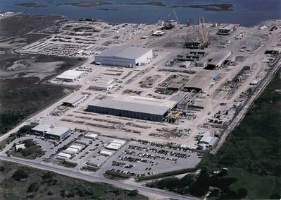 Gulf Island North Yard: Photo courtesy of Gulf Island Fabrication