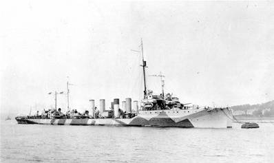 USS Cassin (DD-43). (U.S. Naval History and Heritage Command Photograph.)