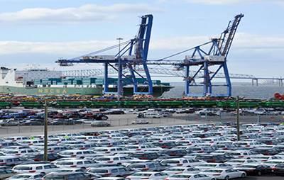 Port of Baltimore Wharf: Photo courtesy of Maryland Dept of Transportation