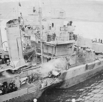 USS Kearny (DD-432) (Photo: Tracy White)