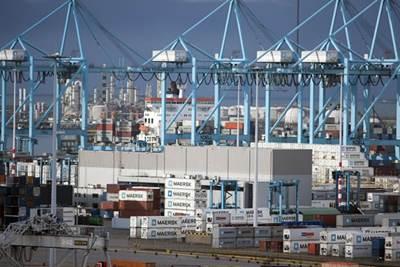 APM Terminal Rotterdam: Photo courtesy of the port