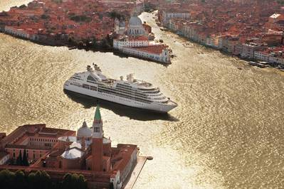 Seabourn Odyssey in Venice: Image courtesy of the owners
