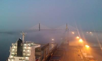 Jacksonville Port View: Photo courtesy of JAXPORT