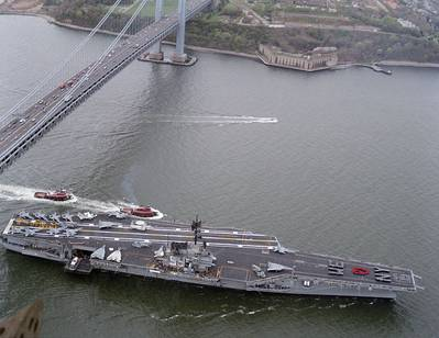 USS Forrestal in 1982: Photo Wiki CCL
