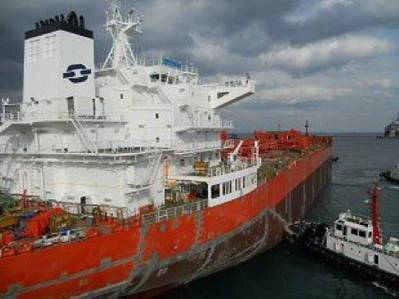Chemical tanker: Photo courtesy of Odfjell