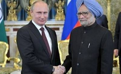 PM's Putin & Singh: Russia Govt. photo