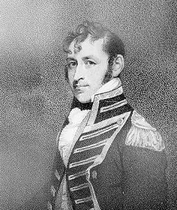 Stephen Decatur, USN. 19th Century engraving by D. Edwin, after a Gilbert Stuart portrait. (U.S. Naval Historical Center Photograph.)