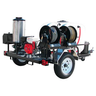 Hot Water Honda Powered Trailer: Image courtesy of Water Cannon