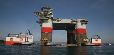 Loading Jack St. Malo onto the Dockwise Vanguard: Photo credit ABB