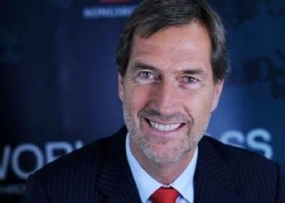 CEO Walter Qvam: Photo courtesy of Kongsberg