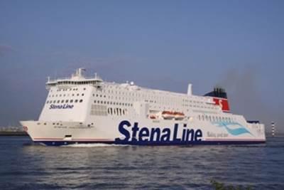 Ro-Pax Ferry: Photo courtesy of Stena Line