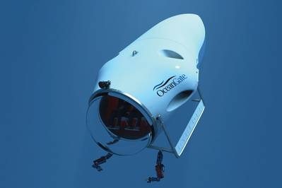 Under a contract issued to Boeing Research & Technology (BR&T), OceanGate, the Applied Physics Laboratory at the University of Washington (APL-UW) and Boeing have validated the basic hull design for a submersible vehicle able to reach depths of 3,000m.