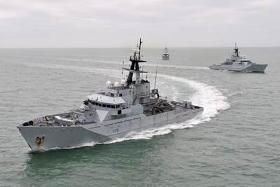 Naval Patrol Boats: Image courtesy of RN