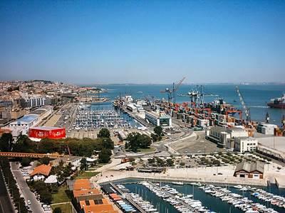 Lisbon marina and port: Photo Wiki CCL