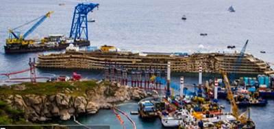 Costa salvage: Image courtesy of TITAN