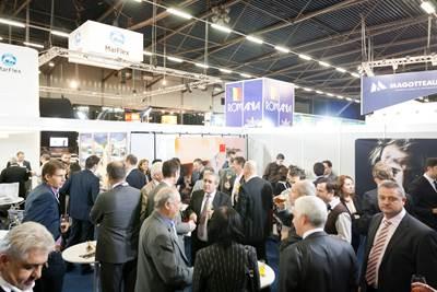 Networking reception: Photo credit Rotterdam Ahoy