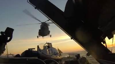 Russian Coast Guard boarding: Image courtesy of Greenpeace