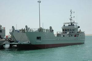A landing craft similar to those to be built for the Bahrain Navy.