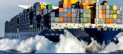 Chartered vessel: Image courtesy of GSL