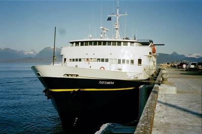 Ferry Tustumena: Photo credit PMEL