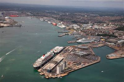 Port of Southampton: Photo credit AB Parking