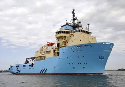A Maersk OSV: Image courtesy of Maersk