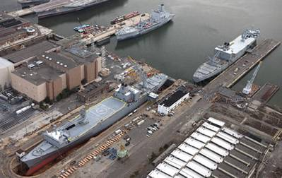 Northeast Ship Repair's Philadelphia yard