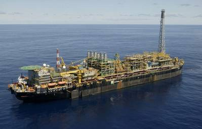 Petrobas Offshore Plant: Photo credit Roll-Royce