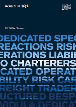 Charterers cover brochure: Image courtesy of UK P&I Club